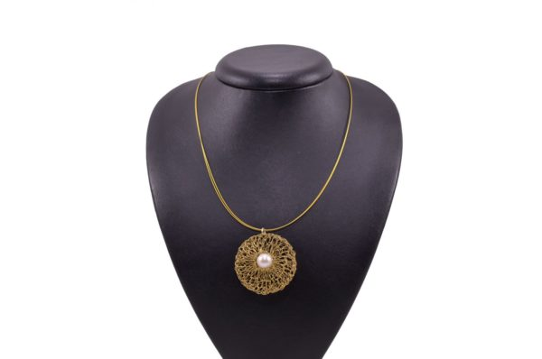 Gold-plated silver necklaces