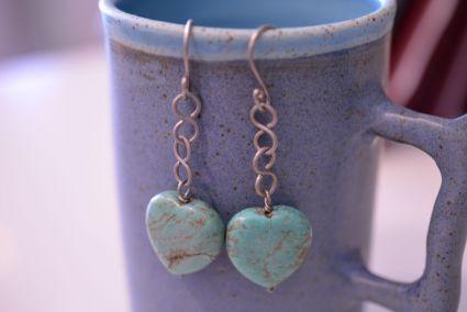 Handmade Titanium earrings