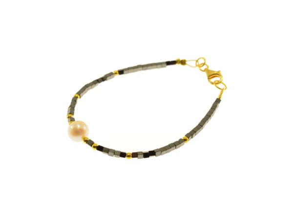 Gold-plated silver bracelets